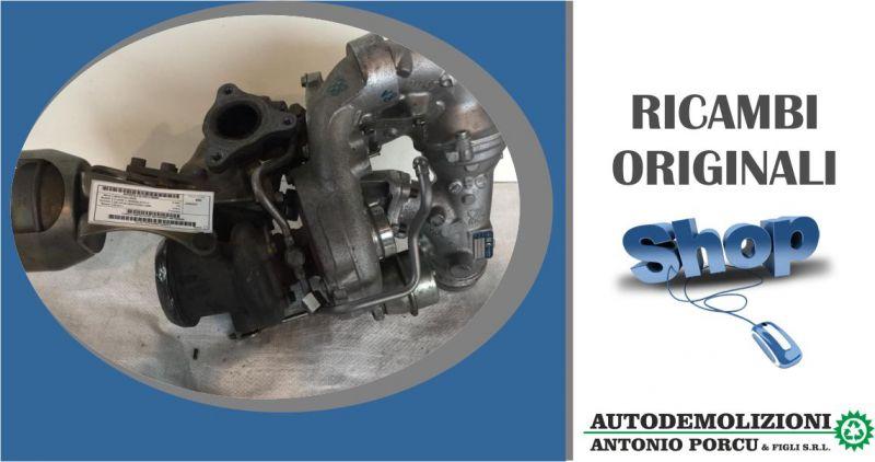 ANTONIO PORCU E FIGLI - offerta turbocompressore turbina originale usata Mercedes Classe-c