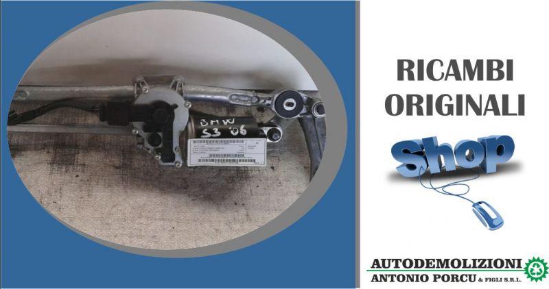 ANTONIO PORCU E FIGLI - offerta meccanismo tergiparabrezza usato originale motorino bmw serie 3