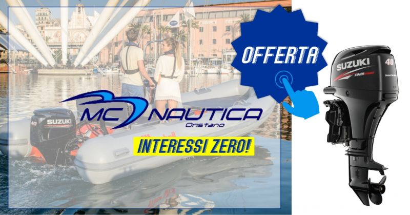 MC NAUTICA - offerta motore fuoribordo Suzuki Marine