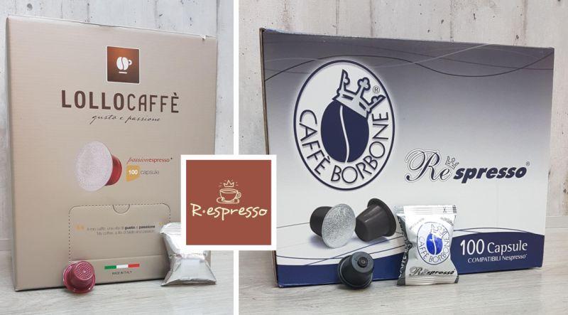 RESPRESSO offerta capsule compatibili nespresso lollo-promozione capsule caffe compatibili borb