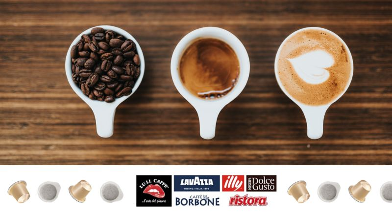 Offerta Vendita Caffè Cialde Jesi - Occasione Vendita Caffè Capsule Jesi