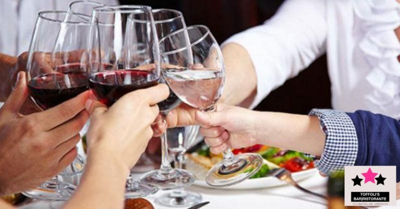 Toffolis offerta organizzazione pranzi di lavoro - occasione ristorante menu fissi convenienti