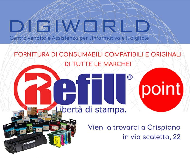 Offerta cartucce originali compatibili Brother Sharp Philips Panasonic Epson crispiano lecce