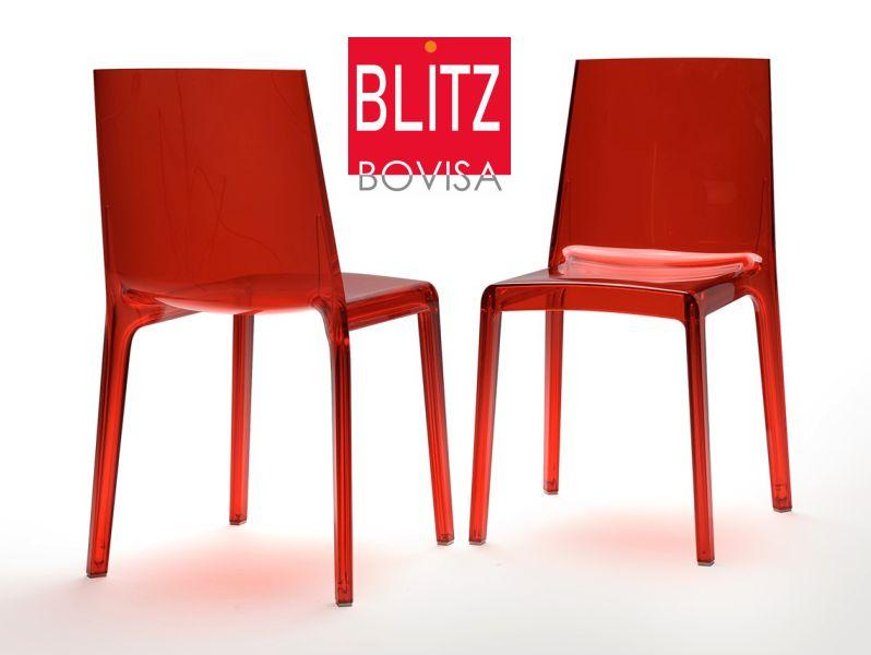 BLITZ BOVISA offerta sedia rexite eveline - promozione sedie impilabili in policarbonato