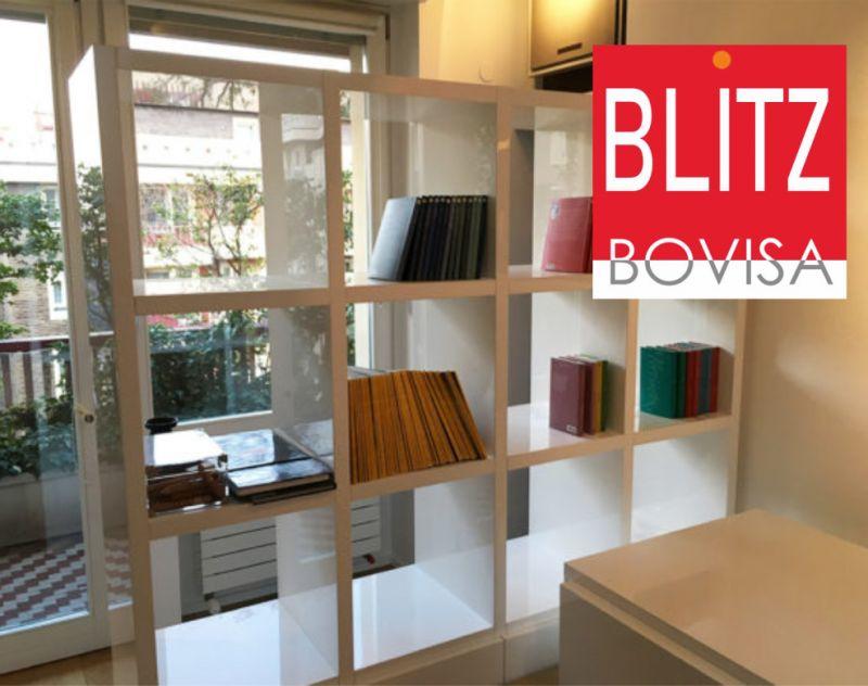 BLITZ BOVISA offerta cappellini sistemi libreria - promozione libreria design usata