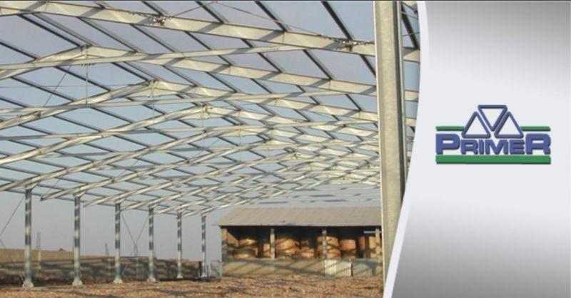 PRIMER SILIGO - realizzazione strutture metalliche per uso industriale zootecnico agricolo