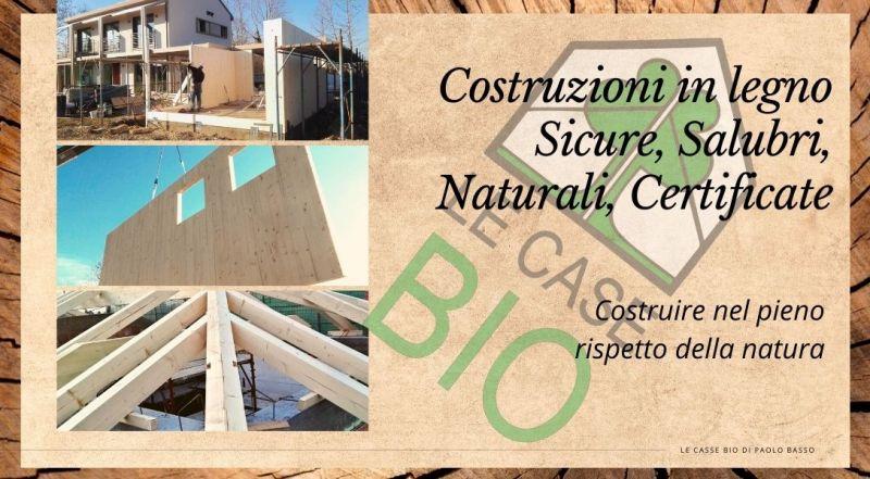 Le Case Bio offerta uffici in legno a Treviso - occasione costruzioni edili biosostenibili Susegana a Treviso