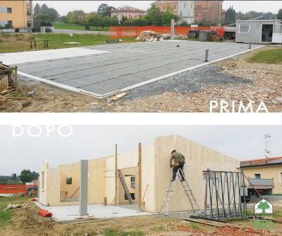 le case bio offerta realizzazione strutture in legno occasione progettazione edifici in legno