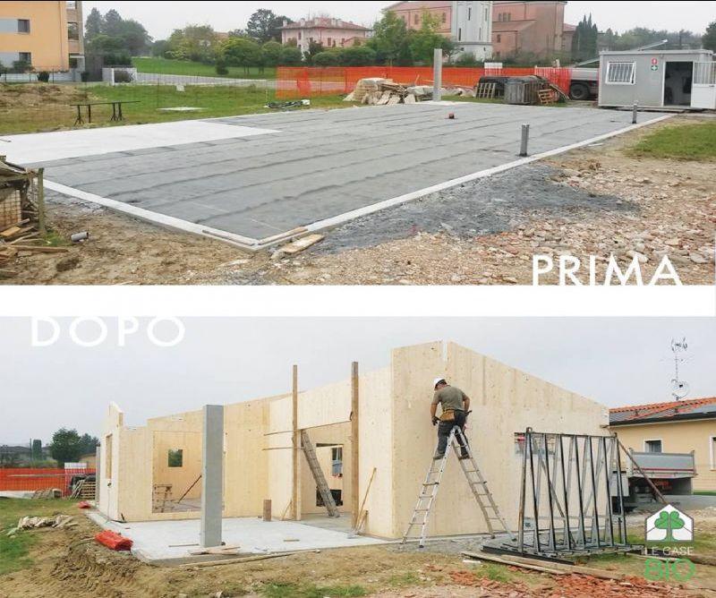 Le Case Bio offerta realizzazione strutture in legno - occasione progettazione edifici in legno