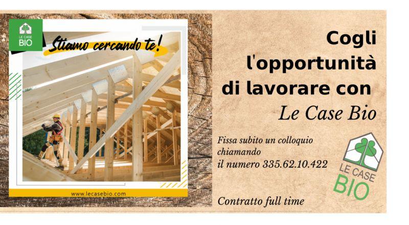Offerta di lavoro nel settore edile a Treviso – occasione addetto cantiere edile nel settore della bioedilizia e legno a Treviso