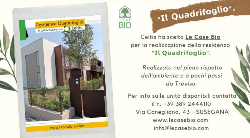 Offerta residence totalmente sostenibili con unità in vendita a Treviso – occasione case in vendita a zero impatto ambientale a Treviso