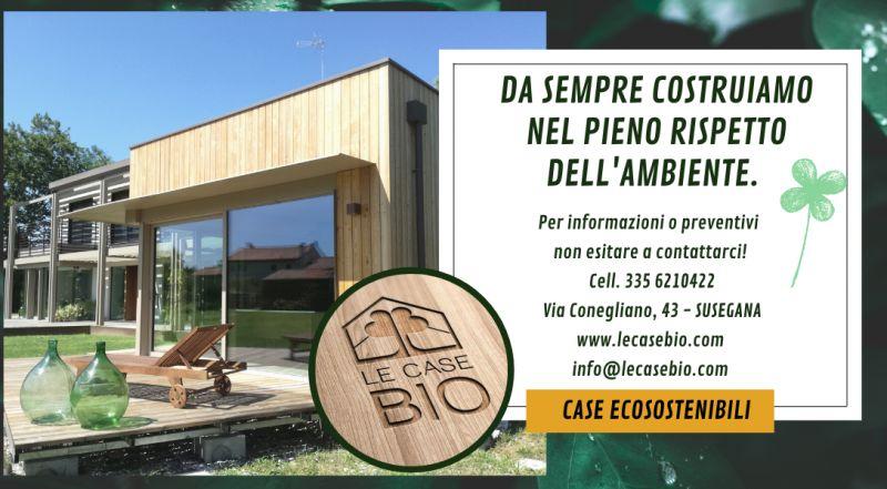 Offerta realizzazione case ecosostenibili a Treviso – occasione bioedilizia e architettura sostenibile a Treviso