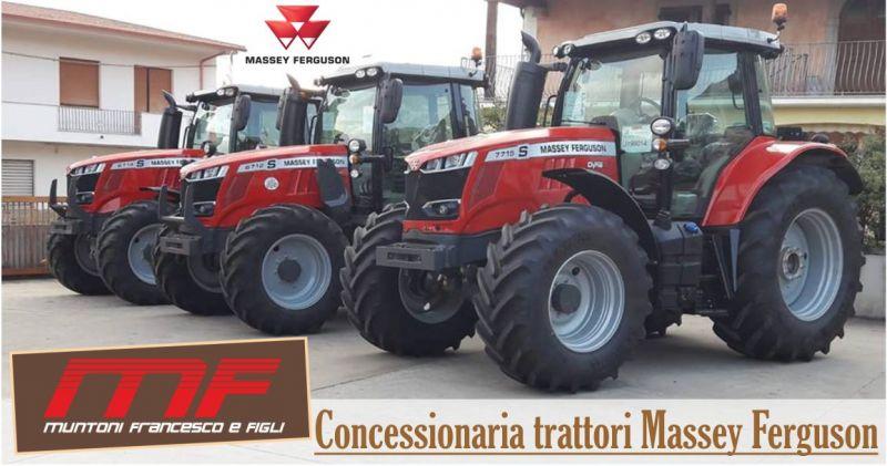 MUNTONI AGRICOLTURA Sassari - offerta trattori nuovi e usati - concessionaria Massey Ferguson