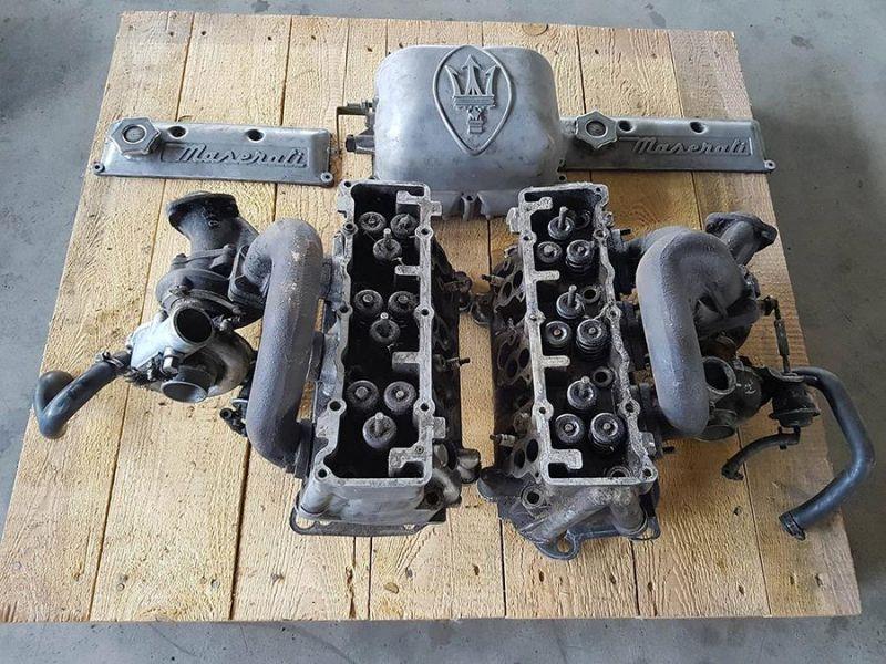 Occasione Testate, Turbine, Coperchio, Carburatore Maserati Biturbo
