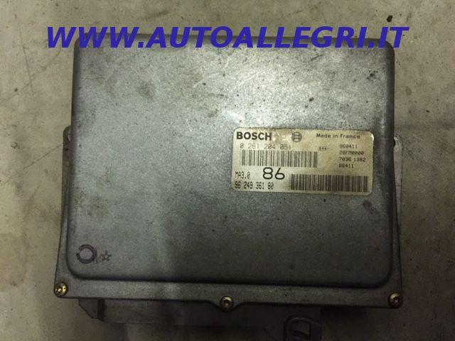 Offerta ECU CENTRALINA MOTORE Bosch Citroen Peugeot 106 1.0 9624936180, 0261204051