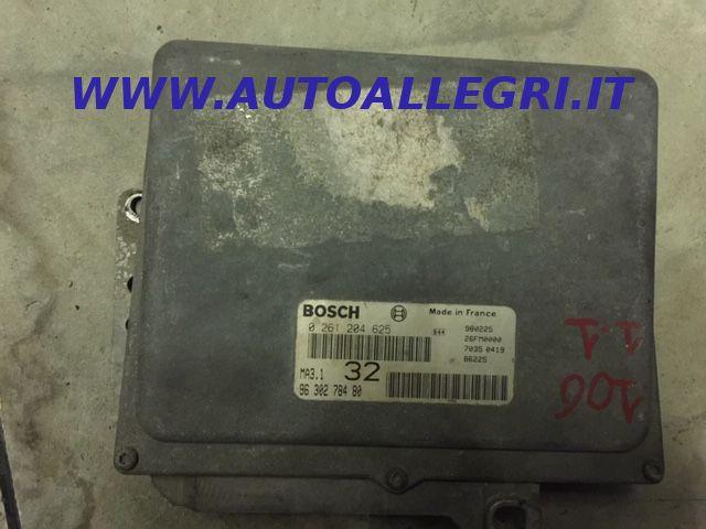 Offerta ECU Centralina Motore Bosch Peugeot 106 Citroen Saxo 1.0 0261204625, 9630278480