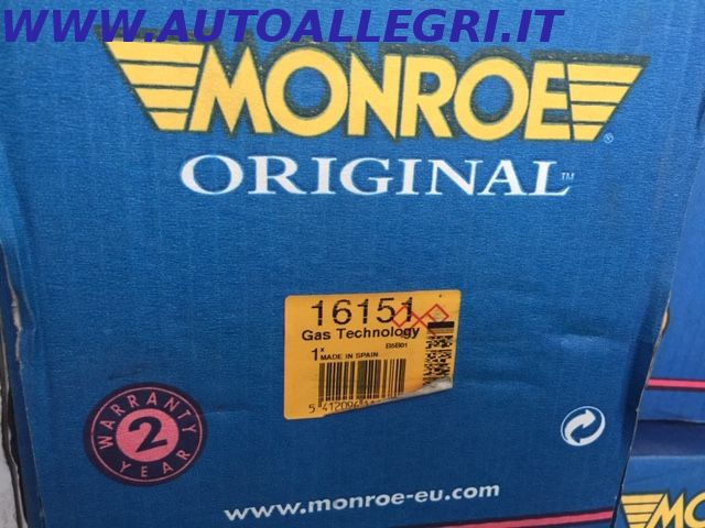 Offerta AMMORTIZZATORE MONROE 16151 SEAT VW