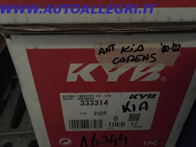 Offerta AMMORTIZZATORE KYB 333 314 KIA