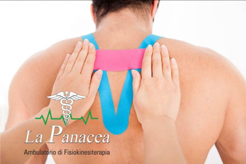 LA PANACEA promozione Taping Neuromuscolare Ferrara