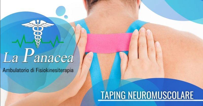 Offerta trattamenti con taping neuromuscolare Ferrara - Occasione trattamenti con nastro adesivo elastico