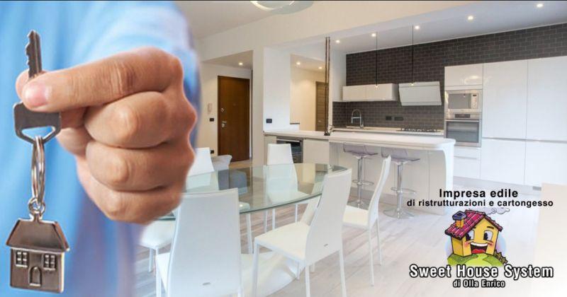 SWEET HOUSE GUSPINI - offerta ristrutturazione completa chiavi in mano case uffici e attivita