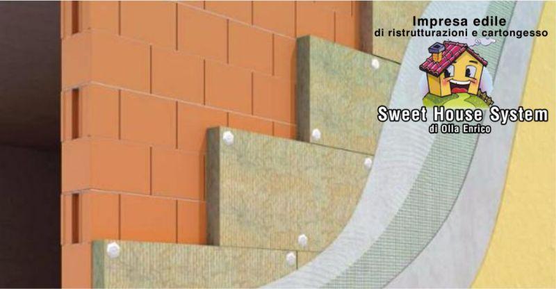 SWEET HOUSE GUSPINI - offerta sistema cappotto isolamento termico pareti esterne