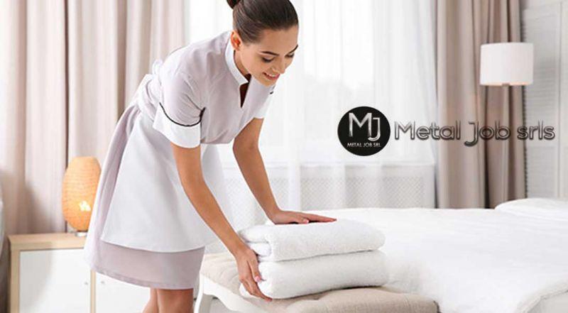 Offerta personale pulizie camere albergo hotel zona Latina