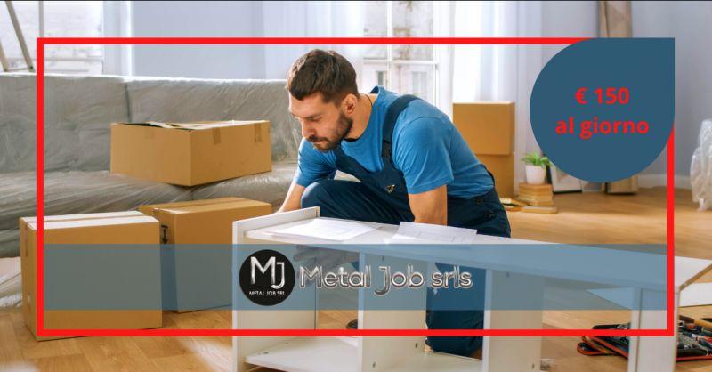 METAL JOB SRLS - Offerta montatori arredamenti mobili Roma