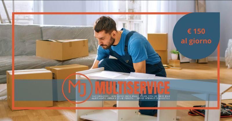MJ MULTISERVICE - Offerta montatori arredamenti mobili Roma