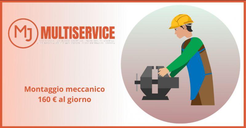 METAL JOB SRLS - Offerta montatori meccanici Roma