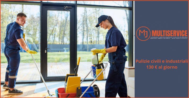 METAL JOB SRLS - Offerta pulizie civili e industriali Roma
