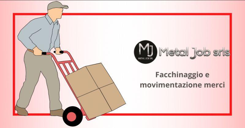 METAL JOB SRLS - Offerta attivita di facchinaggio e movimentazione merci Latina