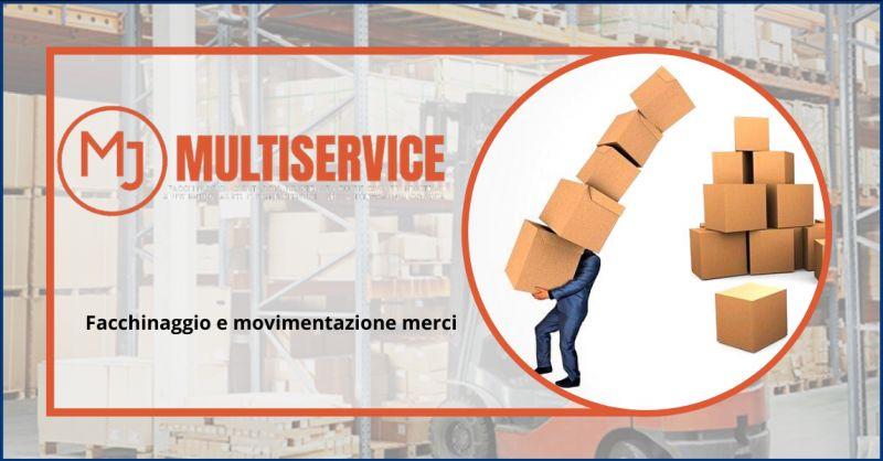 METAL JOB SRLS - Offerta azienda con servizio di facchinaggio e movimentazione merci Gaeta