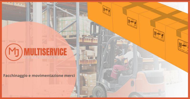 METAL JOB SRLS - Offerta impresa con servizio di facchinaggio e movimentazione merci Roma Sud