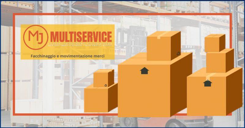 METAL JOB SRLS - Offerta impresa con personale per facchinaggio e movimentazione merci Frascati