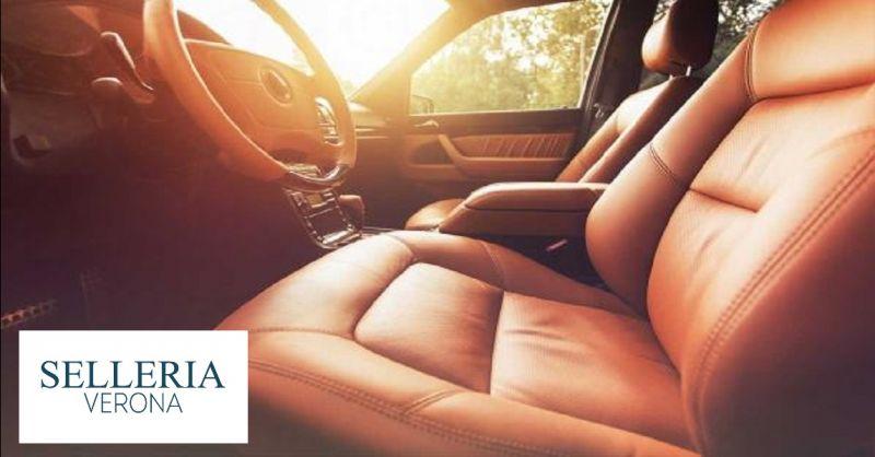 SELLERIA VERONA offerta riparazione tappezzeria auto - occasione personalizzazione interni auto