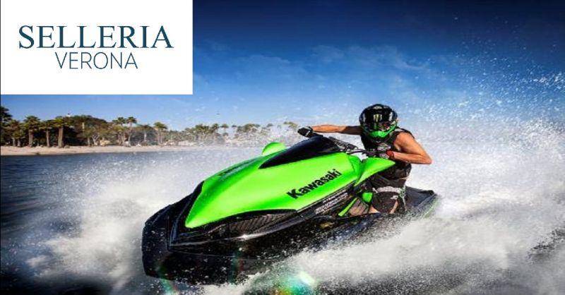 SELLERIA VERONA offerta tappezzeria acquascooter - occasione riparazione selle moto d'acqua
