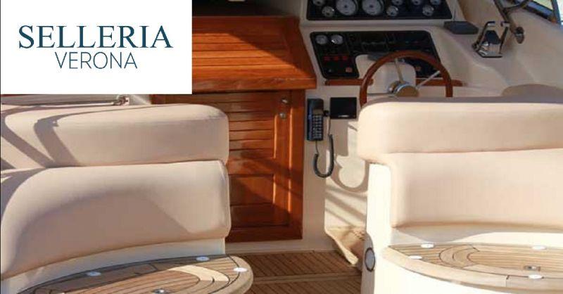 SELLERIA VERONA offerta personalizzazione tappezzeria nautica - occasione rivestimenti nautici