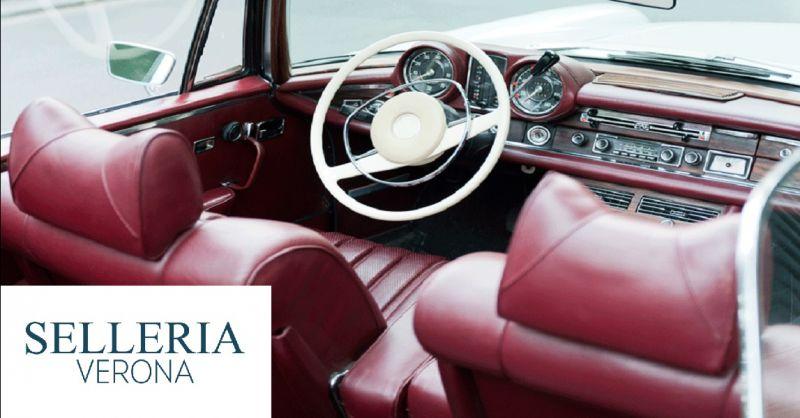SELLERIA VERONA offerta restauro tappezzeria auto d'epoca - occasione riparazione cielo auto