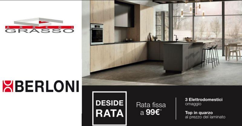 Arredi Grasso offerta arredamento cucina - occasione rate cucina Berloni Catania