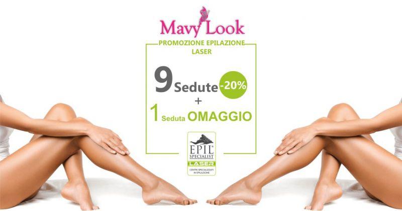 MAVY LOOK  offerta centro estetico - promozione sedute epilazione laser
