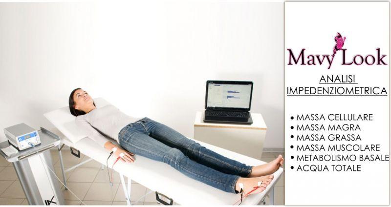 MAVY LOOK consulenza nutrizionista - offerta analisi Impedenziometrica composizione corporea