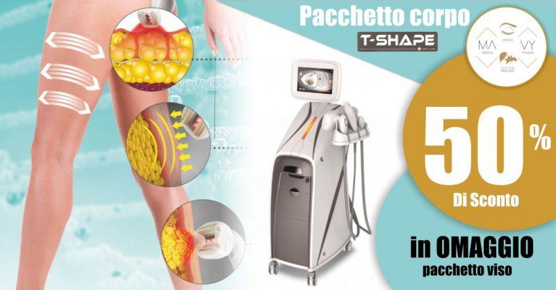 MAVY LOOK - offerta trattamento efficace per contrastare cellulite drenare rassodare T-Shape