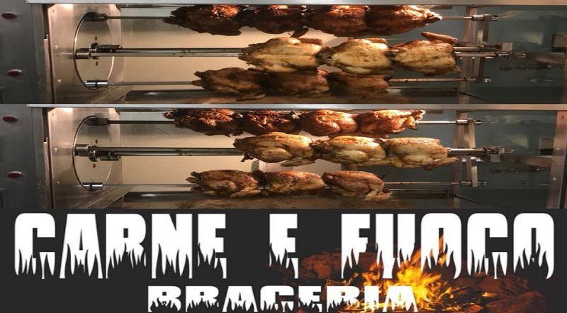 Carne e Fuoco Braceria offerta carne alla brace - occasione pollo allo spiedo Napoli