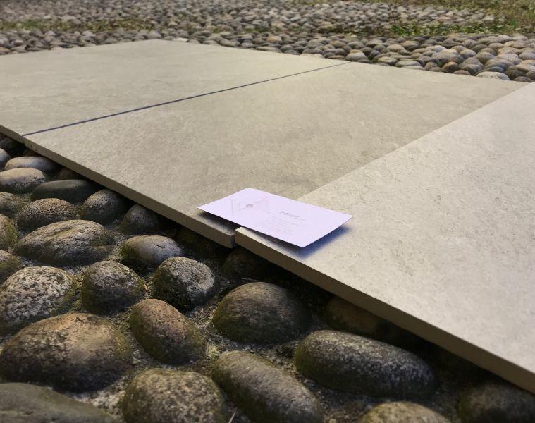 Intest srl offerta gres porcellanato rettificato effetto pietra - occasione vendita pavimenti
