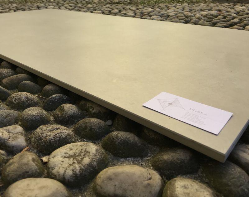 offerta gres porcellanato rettificato effetto cemento resina - occasione vendita pavimenti
