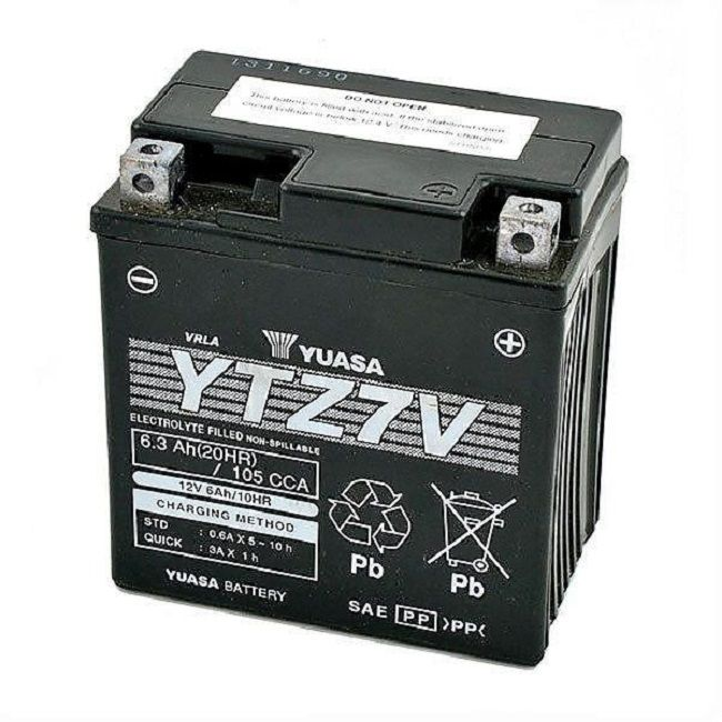 offerta vendita batteria yuasa ytz 7-v 12v 6,3ah cca105a - occasione vendita batteria moto