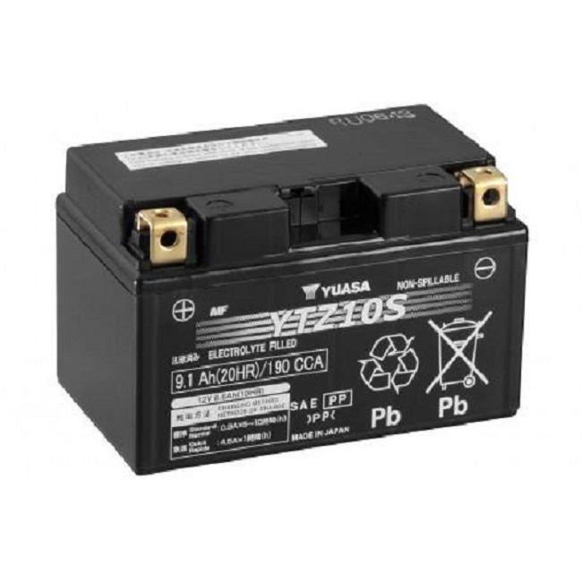 offerta vendita batteria yuasa ytz10 s 12 v 8,6 ah cca190a - occasione vendita batteria moto