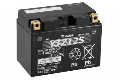 offerta vendita batteria yuasa ytz12 s 12 v 11 ah cca210a occasione vendita batteria moto