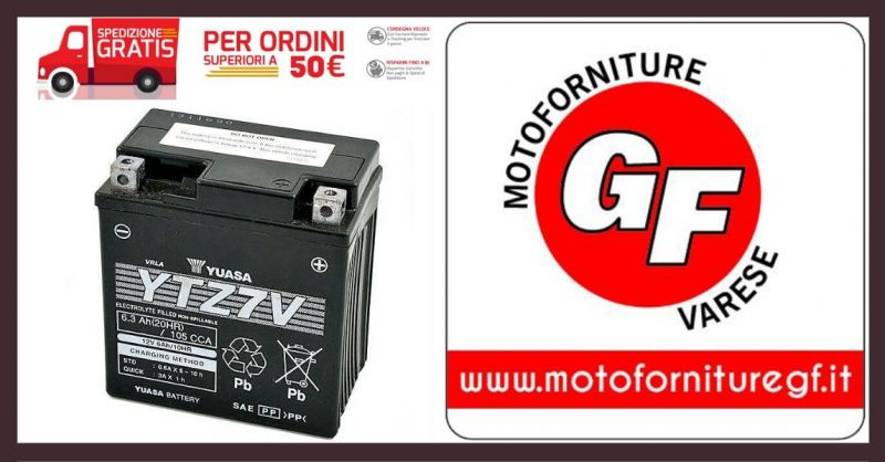 MOTOFORNITURE GF - Occasione vendita online migliori BATTERIE YUASA 12V per MOTO e SCOOTER
